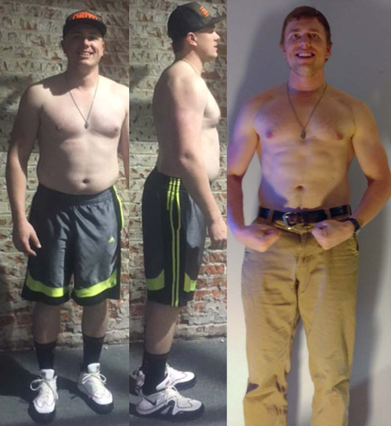 Alex - Weight Loss Results - SCE Fitness
