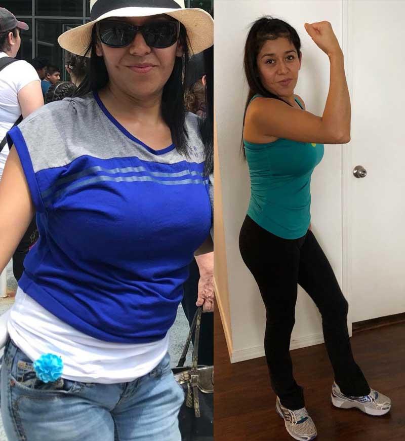 Rosalba - Reduce stomach fat & gain muscle mass