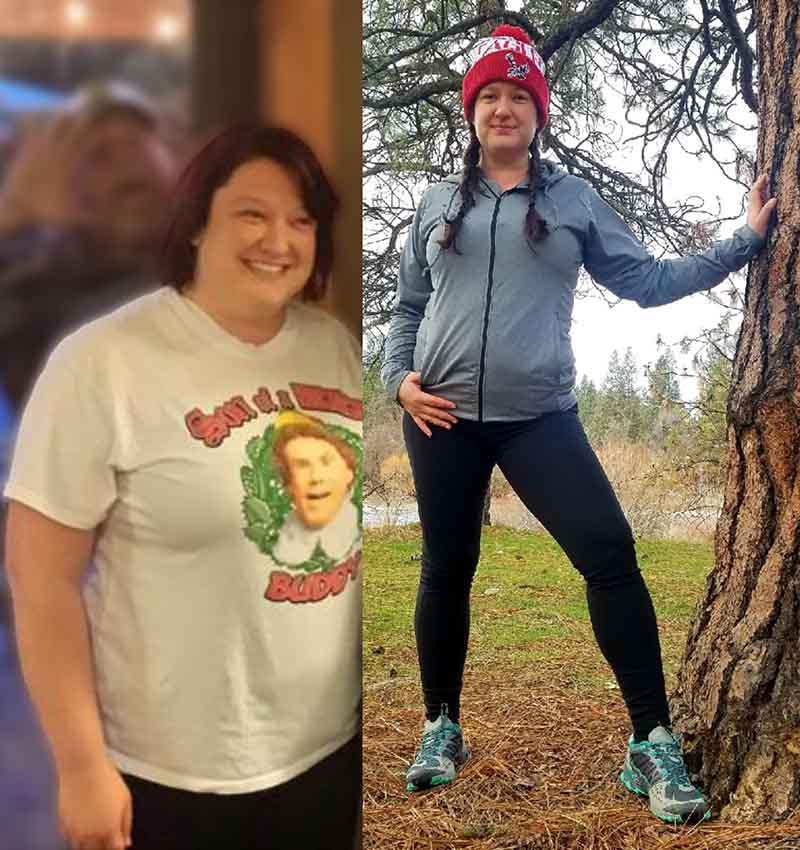Elena Mierau - Weight Loss - Healthier