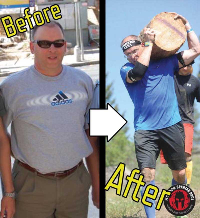 Greg Bogart - Before & After, Bike Ride Goal