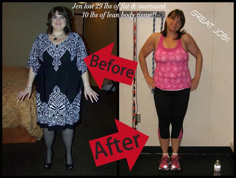 Jennifer Preston - Cheeleader, Weight Loss