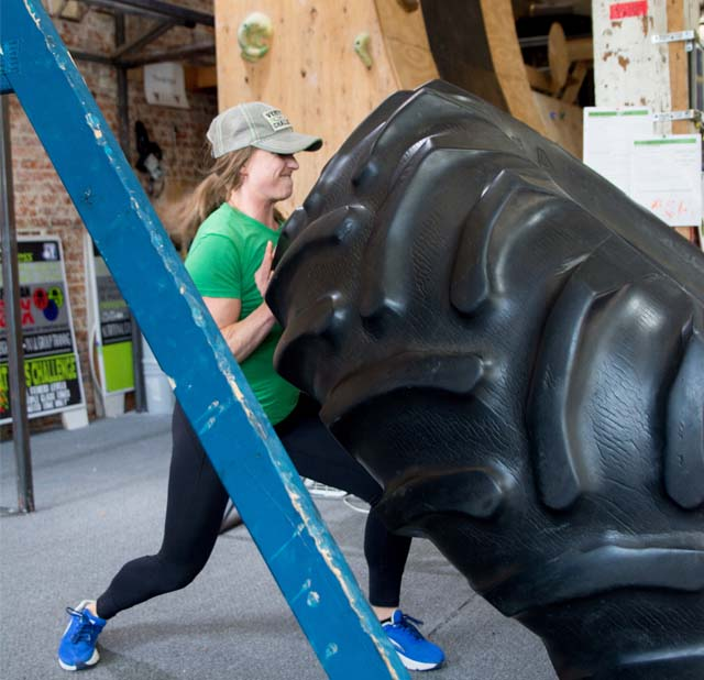 SCE Fitness - Training with Big Tire